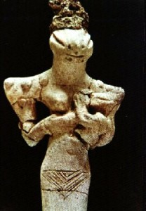 Ancient reptilian