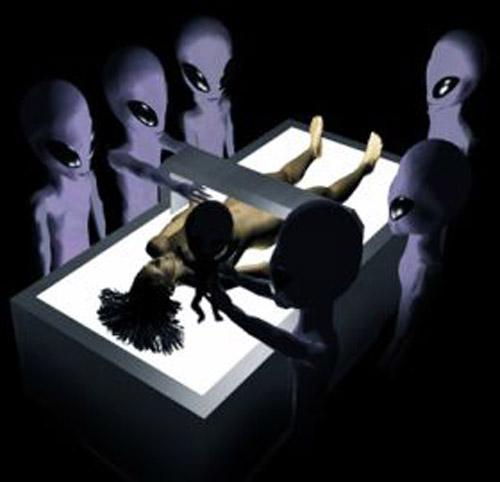 Alien Examination Of Human